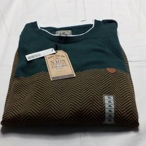 NWT XIOS NEW YORK SWEATER  SIZE XL